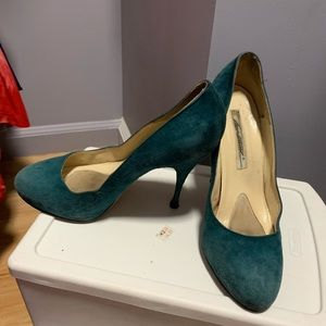 Sexy pump. Brian Atwood suede  great color